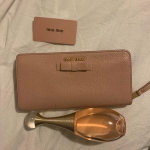 Miu Miu bow wallet